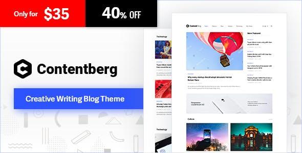 Contentberg - Blog & Content Marketing Theme