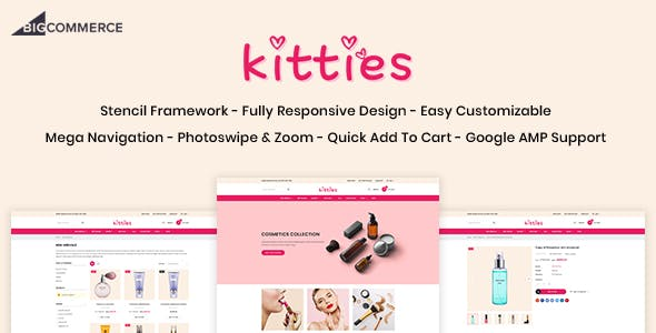Kitties - Beauty Responsive BigCommerce Theme nulled theme download