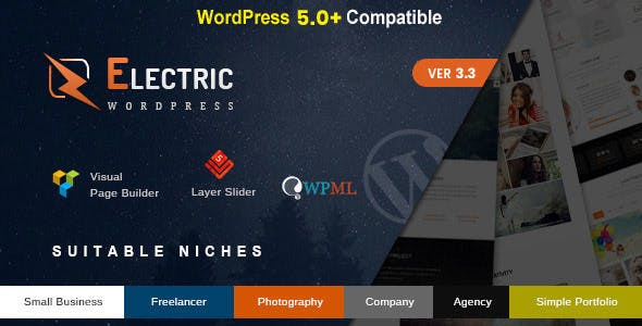Electric - The WordPress Theme - 23