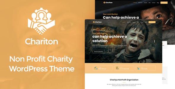 Chariton - NonProfit Fundraising Charity WordPress Theme