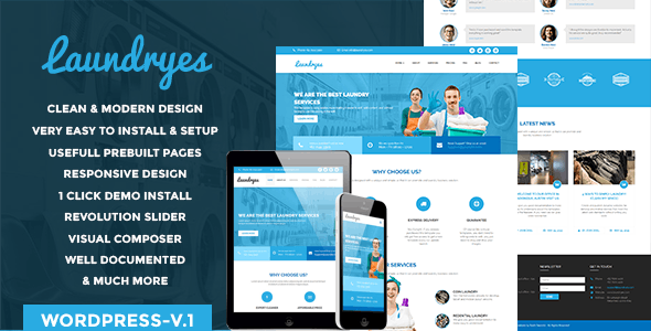 dry cleaning Free Download | Envato Nulled Script | Themeforest and
