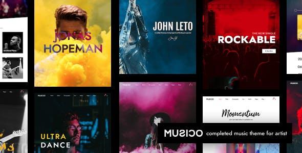 Musico | Music Band WordPress