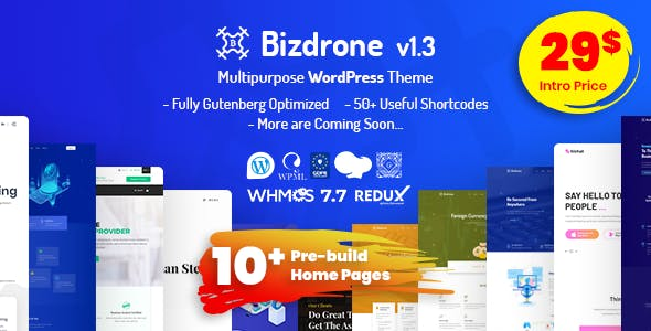 Download Singara – Multipurpose Hosting with WHMCS WordPress Themes nulled 01 bizdrone