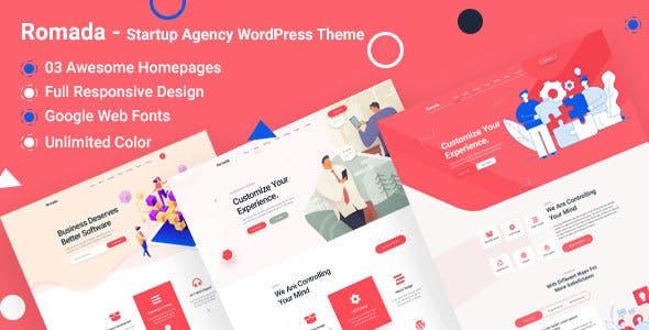 Romada - Startup Agency WordPress Theme