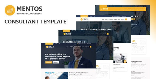 Mentos - Consultant & Business HTML Template