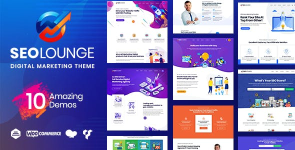 SEOLounge - SEO Digital Marketing Theme by radiantthemes | ThemeForest