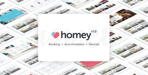 Homey - Booking and Rentals WordPress Theme nulled theme download