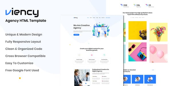 HTML Website Templates from ThemeForest 160592be00b85
