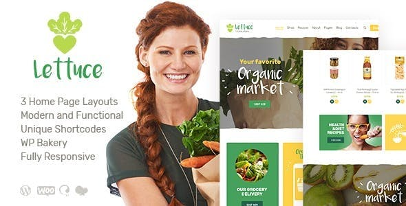 Lettuce | Organic Food & Eco Products WordPress Theme