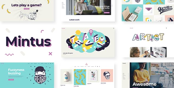 Top 10 Illustration portfolio Nulled Themes 2019 Free Download