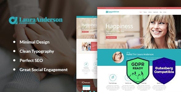 Psychologist | Therapy and Counseling WordPress Theme