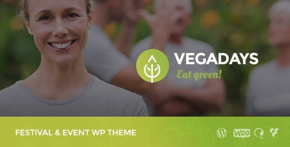 VegaDays - Vegetarian Food Festival & Event WordPress Theme