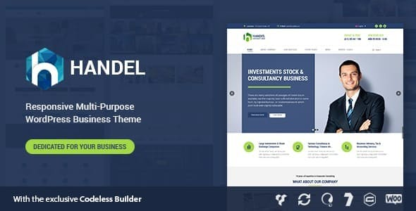 Handel - Responsive Multi-Purpose Business Theme