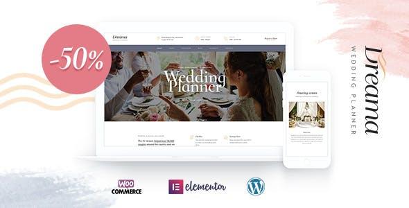 Dreama - Engagement & Wedding Planner WordPress Theme nulled theme download
