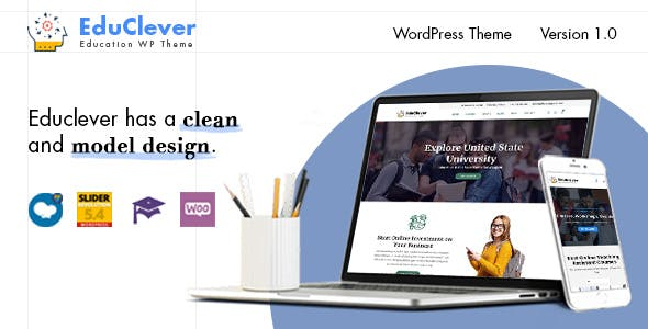 Educlever - Education WordPress Themes nulled theme download