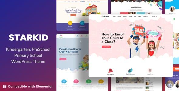 Kindergarten & Children Care WordPress Theme | StarKid nulled theme download