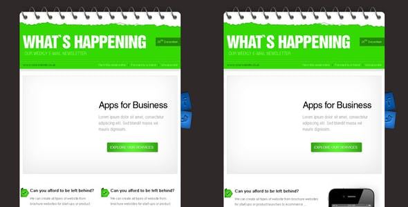 Business Newsletter Templates from ThemeForest