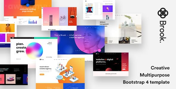 2019's Best Selling Creative HTML Website Templates