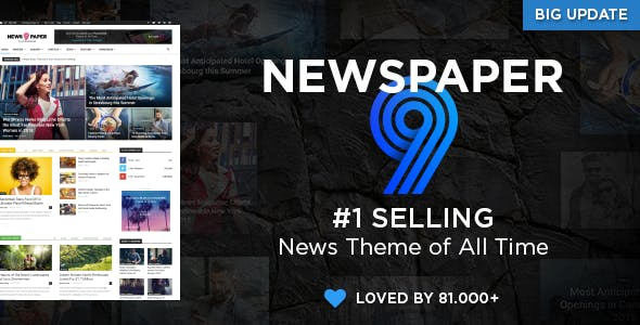 2019's Best Selling WordPress Blog Themes &