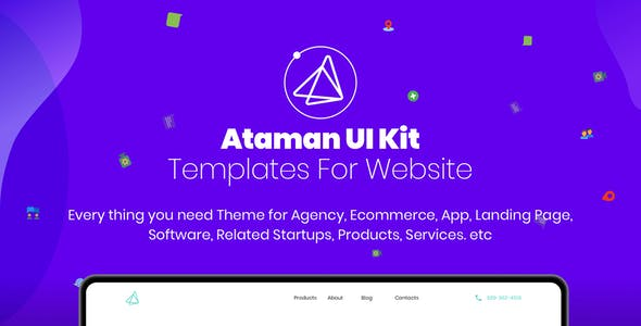 Sketch App Templates from ThemeForest