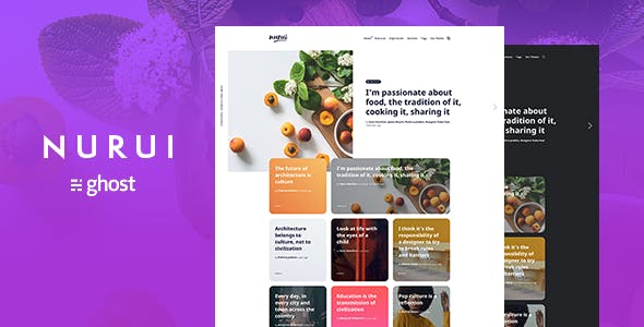 Premium Blog Templates from ThemeForest