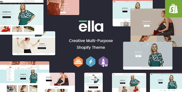eCommerce Websites and Templates from ThemeForest