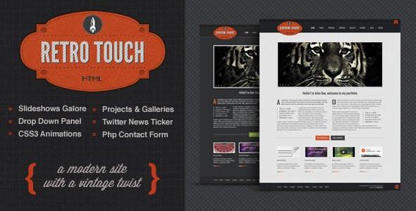 Revolver Website Templates from ThemeForest