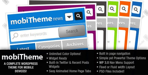 mobiTheme - WordPress Theme for Mobile Devices nulled theme download