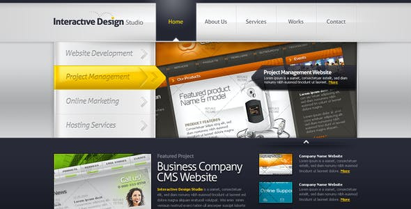 free download portfolio creative psd templates