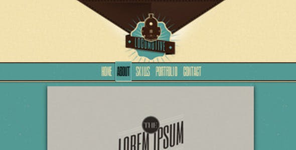 steampunk website templates from themeforest