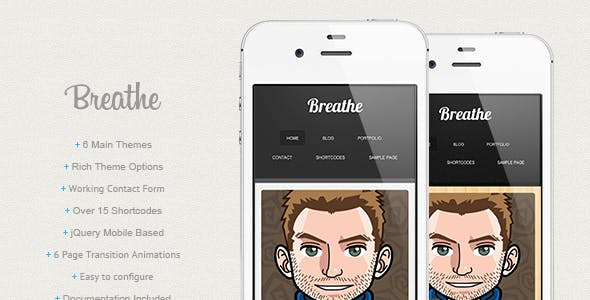 Breathe - Wordpress nulled theme download
