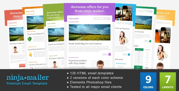 Mailer Template Website Templates from ThemeForest