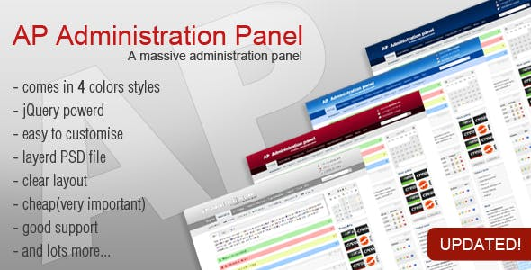 Wysiwyg Editor HTML Admin Website Templates from ThemeForest