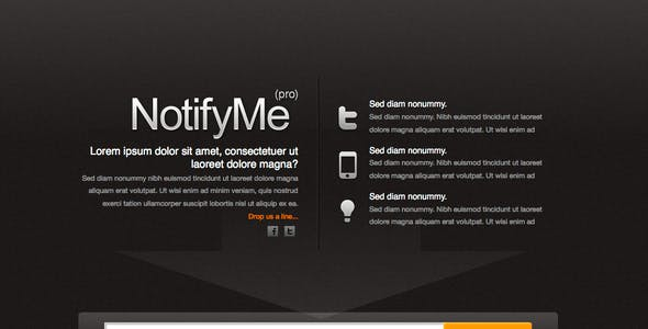 Microsite Templates from ThemeForest