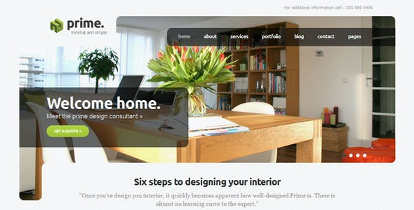 Simple Business Website Templates from ThemeForest