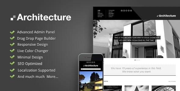 Architecture - WordPress Theme
