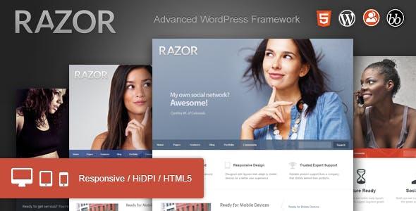 Razor: Cutting Edge WordPress Theme nulled theme download