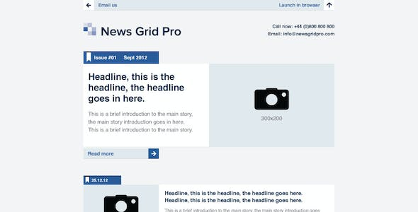 Enews Templates from ThemeForest