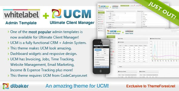 UCM Theme: White Label nulled theme download