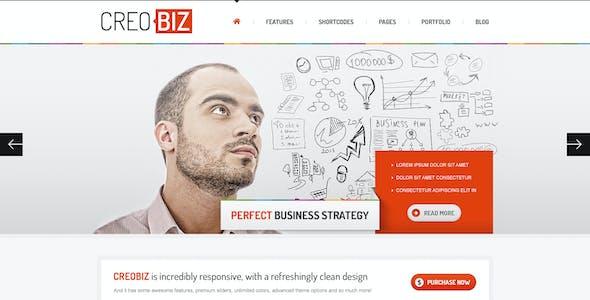 Creobiz Corporate Creative Psd Template