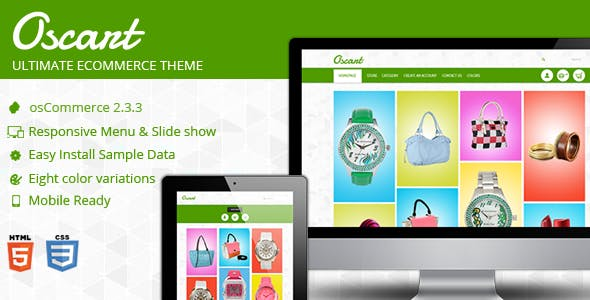 Oscart- Mobile ready OsCommerce theme nulled theme download