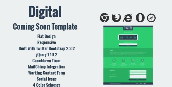 Mail Chimp Mail Chimp Website Templates from ThemeForest