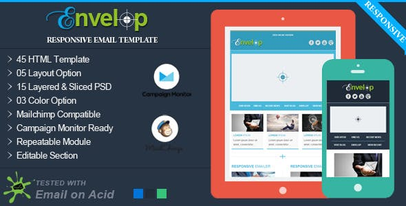 personal newsletter templates from themeforest