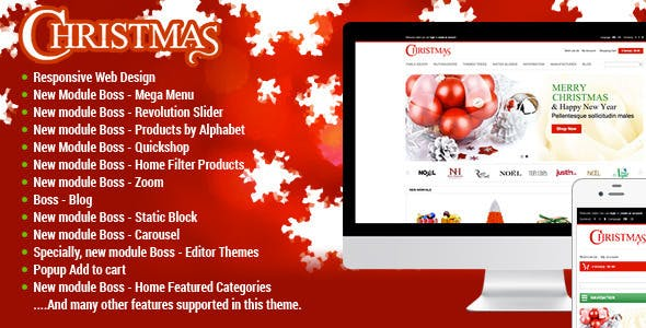 responsive merry christmas opencart theme by tvlgiao themeforest