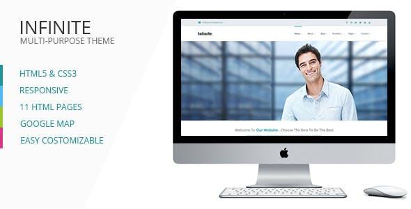 Infinite - Responsive HTML5 Multi-Purpose Template