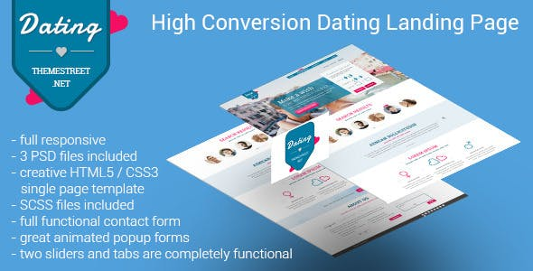dating site themeforest dating in the usa online