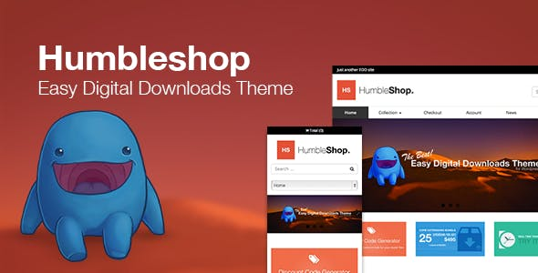 Humbleshop - Minimal Easy Digital Downloads Theme nulled theme download
