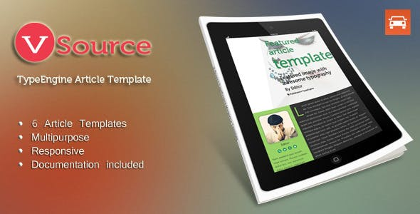 V - Source Multipurpose TypeEngine Theme nulled theme download