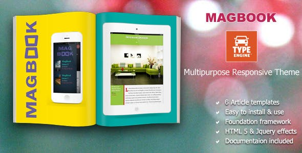 Magbook TypeEngine Template nulled theme download