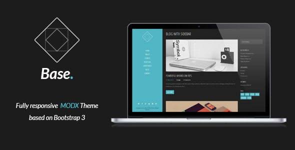 Base - Responsive MODX Theme nulled theme download